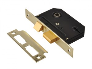 ES-SL Essentials 3 Lever Mortice Sashlock Polished Brass 79mm 3in Visi