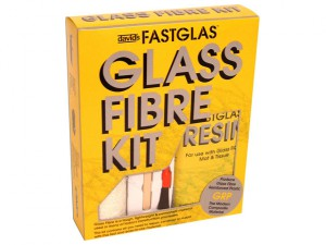 Fastglas Resin & Glass Fibre Kit Large
