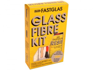 ISOPON® FASTGLAS Resin & Glass Fibre Kit Small