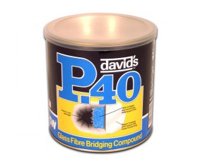 P40 Glass Fibre Repair Paste Tin 1.85 Litre