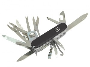Swiss Champ Swiss Army Knife Black 1679530