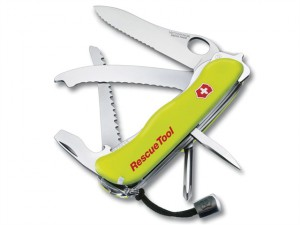 Swiss Army Knife Rescue Tool (With Nylon Pouch)