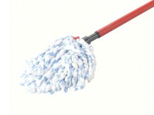 SuperMocio Microfibre & Cotton Mop Head & Handle