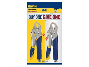 10CR Fast Release™ Locking Pliers Set of 2