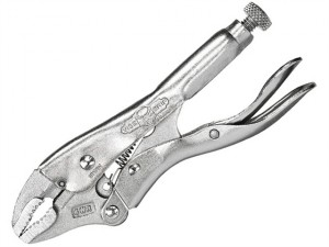 4WRC Curved Jaw Locking Pliers with Wire Cutter 100mm (4in)