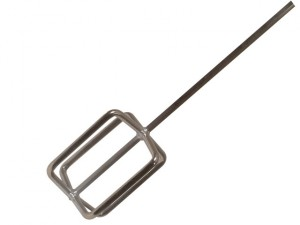 Heavy-Duty Professional Steel Mixing Paddle 125mm