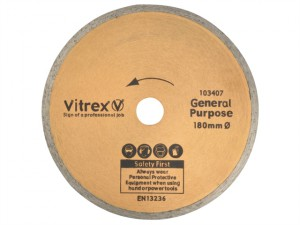 Diamond Blade Standard 180mm