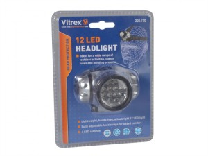 334170 Headlamp 12 LED