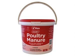 Pelleted Poultry Manure 4kg Tub