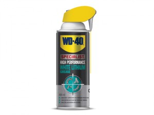 WD-40 Specialist White Lithium Grease Aerosol 400ml