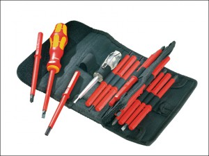 Kraftform VDE Kompakt Interchangeable Screwdriver Set of 16 SL PH PZ TX