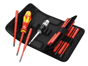 Kraftform Kompakt Slimline VDE Screwdriver Blade Set of 16