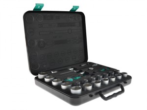 Zyklop Socket Set of 23 Imperial 1/2in Drive