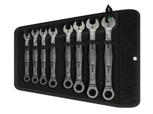 Joker Combi Ratchet Spanner Set of 8 Imperial