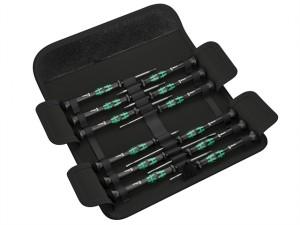 Kraftform Micro Screwdriver Set of 12 SL/PH/HEX/TX