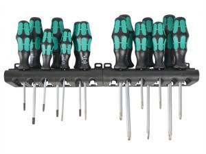 Kraftform Bigpack 300 Lasertip Screwdriver Set of 14 SL / PH / PZ / TX