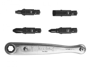 XL75 Offset Ratchet Screwdriver Set