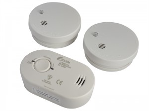 Kidde Twin Smoke Alarm & Carbon Monoxide Alarm Pack