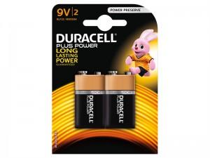 Duracell 9V Alkaline Batteries (2)