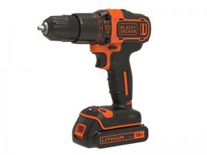 Black & Decker BDCHD18K 2 Speed Combi Drill Kit 18 Volt 2 x 1.5Ah Li-Ion