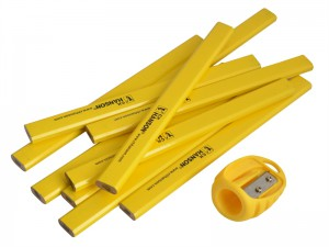 C.H. Hanson 10 Pack Pencils & Sharpener