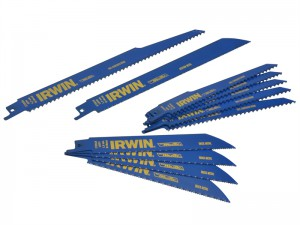 Irwin Bi-Metal Reciprocating Saw Blade Pack 11 Piece