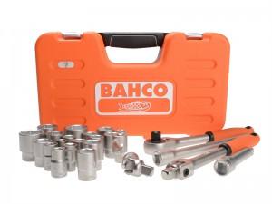 Bahco 1/2in Sqaure Drive Metric Socket Set 24 Piece
