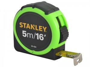 Stanley 5m/16ft Hi-Vis Tape Measure Bulk Tray 16