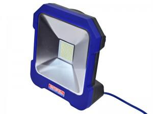 Faithfull Cool Touch Task Light With Power Take-Off Socket 20 Watt 240 Volt