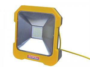 Faithfull Cool Touch Task Light With Power Take-Off Socket 20 Watt 110 Volt