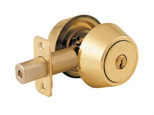 P5211 Security Deadbolt Polished Brass