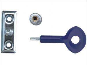 P111 Window Staylocks Polished Brass Finish Pack of 6