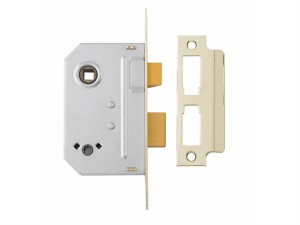 PM236 Bathroom 2 Lever Sashlock Polished Chrome 67mm 2.5in