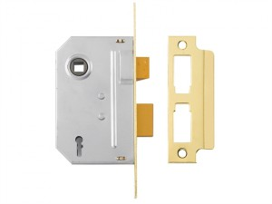 PM246 Internal 2 Lever Mortice Sashlock Polished Brass 67mm 2.5in