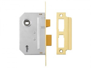 PM246 Internal 2 Lever Mortice Sashlock Polished Brass 80mm 3in