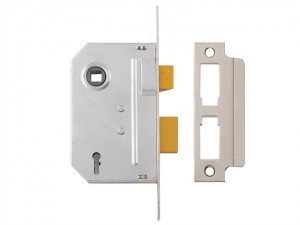 PM320 3 Lever Mortice Sashlock Polished Chrome 79mm 3in