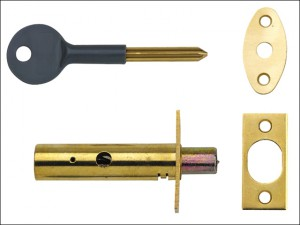 PM444 Door Security Bolts Brass Finish Visi of 2