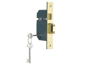 PM560 Hi-Security BS 5 Lever Mortice Sashlock Polish Brass 68mm 2.5in