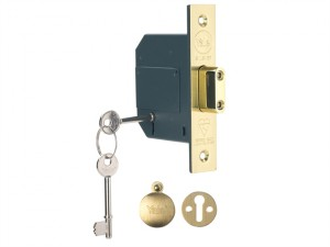 PM562 Hi-Security BS 5 Lever Mortice Deadlock 68mm 2.5in Polish Brass