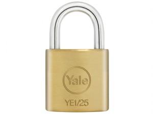 YE1 Brass Padlock 25mm