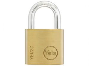 YE1 Brass Padlock 30mm