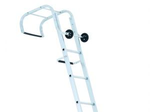 Industrial Roof Ladder 2-Part 1 x 9 & 1 x 10 Rungs 5.95m