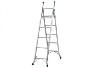 Combination Ladder 3-Way 1 x 5 and 1 x 6 Rungs
