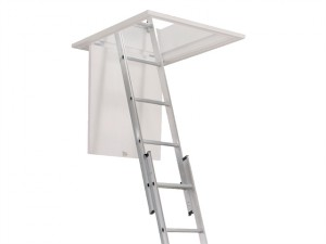 Aluminium 2-Part Loft Ladder