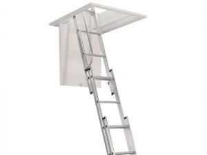 Aluminium 3-Part Loft Ladder