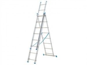 Combination Ladder 3-Part 3 x 7 Rungs
