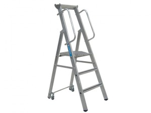 Mobile Mastersteps, Platform Height 0.78m 3 Rungs
