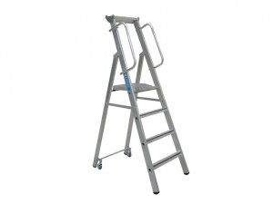 Mobile Mastersteps, Platform Height 3.11m 12 Rungs