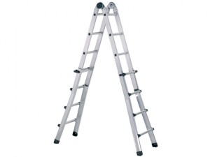 Trade Telescopic Combination Ladder 4 x 5 Rungs