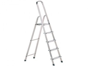 Light Trade Platform Steps, Platform Height 1.62m 8 Rungs